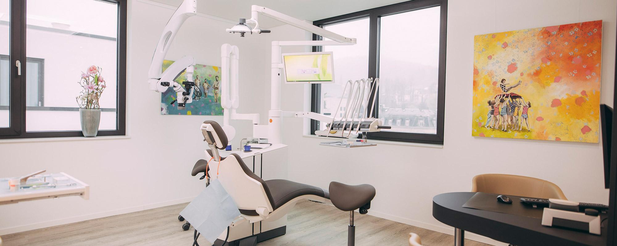 Patienten erwarten angenehme Behandlungszimmer im Medical Center Baden-Baden.