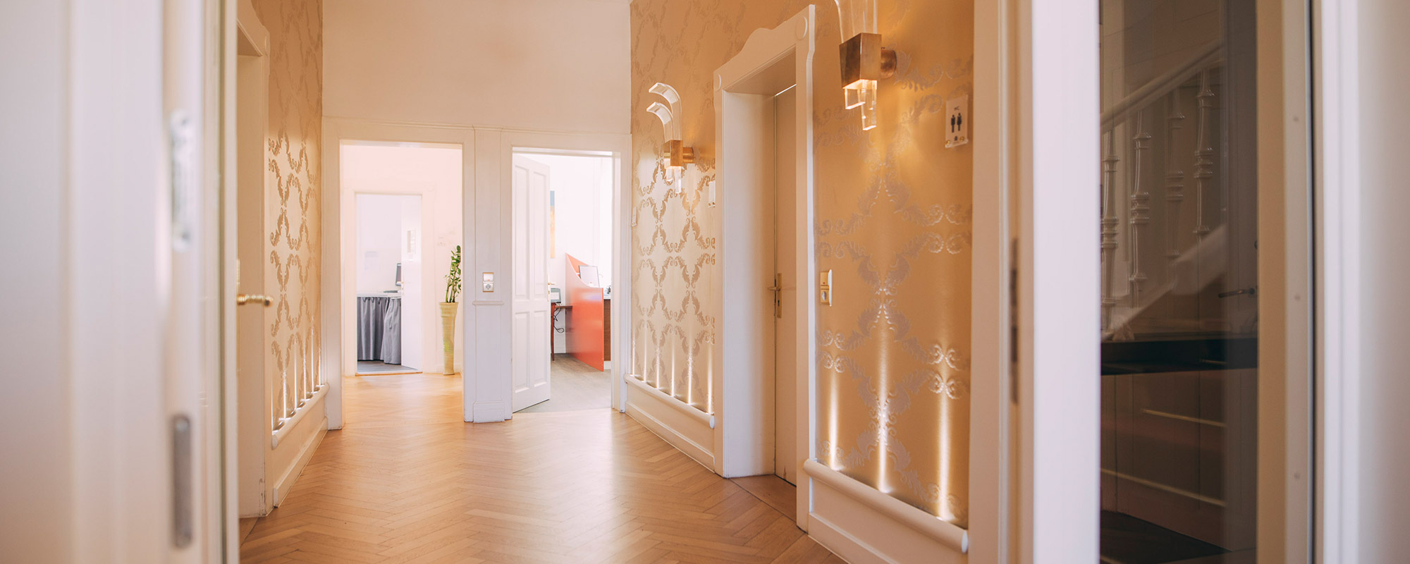 In der Privatpraxis der Villa Seldeneck fühlen sich Privatpatienten sehr gut aufgehoben.