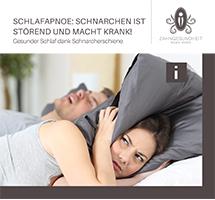 Broschüre Schlafapnoe